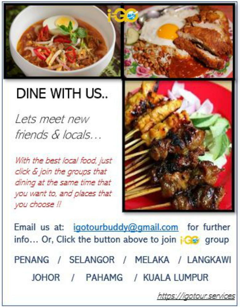 DINE WITH US !